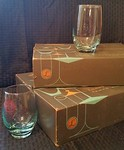Brand new set of Libby bar glasses in the original boxes