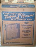 Vintage fan in the original box