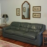 Affordable leather sofa