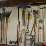 Many outdoor tools
