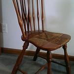 Rush bottom chair