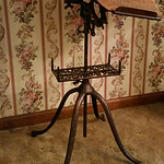 Fantastic, antique dictionary stand.  Only the second we have offered.
