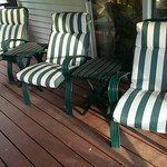 Clean outdoor set, sold as a group as shown