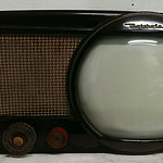 Early Motorola bakelite tube television in superb cosmetic condition.