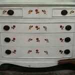 Shabby Chic dresser.  Drawers work well.