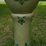 Roseville Jardinere and pedestal.  Jardinere is not mint but is very nice.