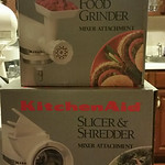 Attachments for stand mixer