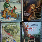 Vintage mystery books