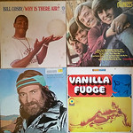 Some of the vintage vinyl