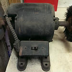 Heavy duty, vintage grinder
