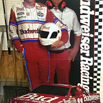 Lifesize Bill Elliot Bud sign w/original box.  This has never been assembled and has all the parts/papers.