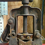 Old pipe cutter