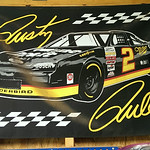 Vintage Rusty Wallace sign