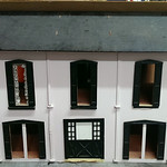 Hand built doll house
