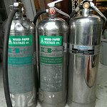 Neat vintage fire extinguishers