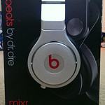 Beats by dr. dre headphones with box