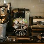 Keurig, Cusinart waffle iron/griddle, etc