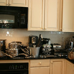 Stainless cookware, including heavy duty Henkels pots/pans