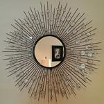 Decorator star burst mirror