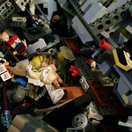 Large collection of Lego parts