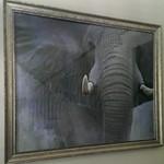 Large elephant decorator art