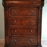 Clean chest of drawers