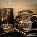 Henkels cookware, sold as a set