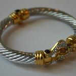 Yurman style bracelt