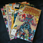Recent comic books.