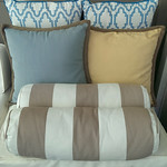 Pottery Barn and One Kings Lane outdoor pillows