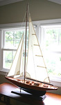Nice decorator sailboat
