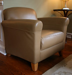 Pair of Bernhardt matching club chairs with some scratches
