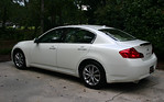 2007 Infiniti G35, 75,000 miles, new brakes, polished headlights, navigation.  $13,500 per owner pricing.