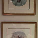 Pair of signed and numbered Buckley Moss prints