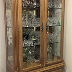 Lexington furniture lighted curio cabinet