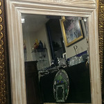 Large decorator mirror