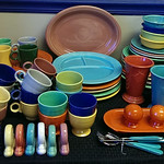 Fiestaware, most are older and vintage pieces