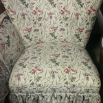 Laura Ashley chair.  There is matching bedding to accompany it.