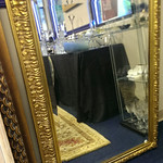 "Large decorator mirror, 43.25"" x 31"""