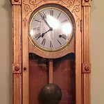 Reproduction wall clock