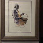 Signed Virginia Fouche framed print