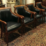 Set of (4) Fairfield office chairs