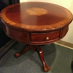 Claw foot drum table