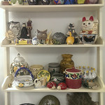 Collectible cats, bowls, pottery and more!