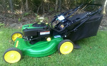 John Deere with battery start.  Owner used five times or less. Cleanest ever offered.