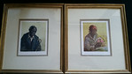 Small Verner professionally framed prints