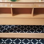 Mid Century headboard and footboard